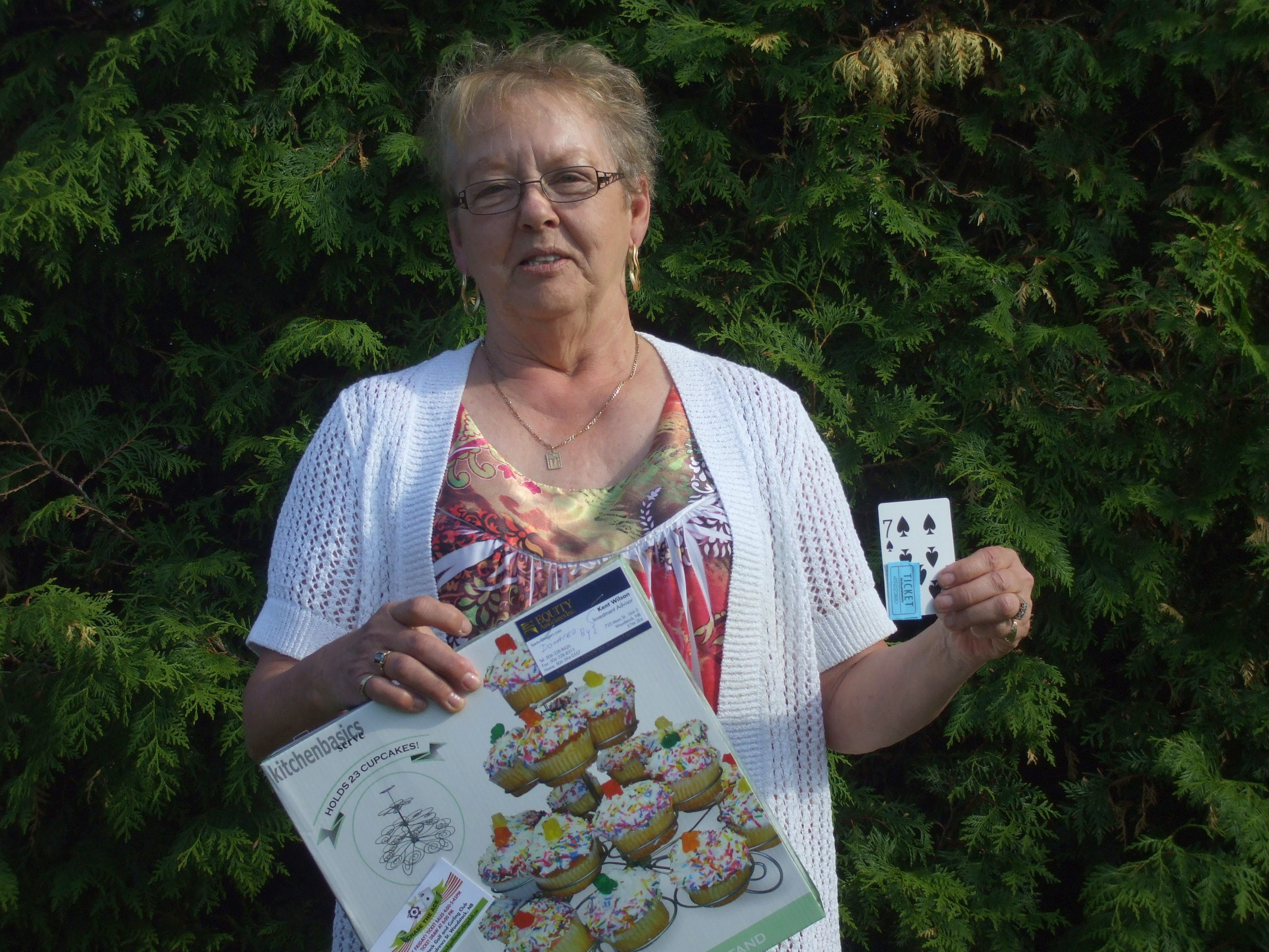 Week 4 Winner - Pauline Pelkey
